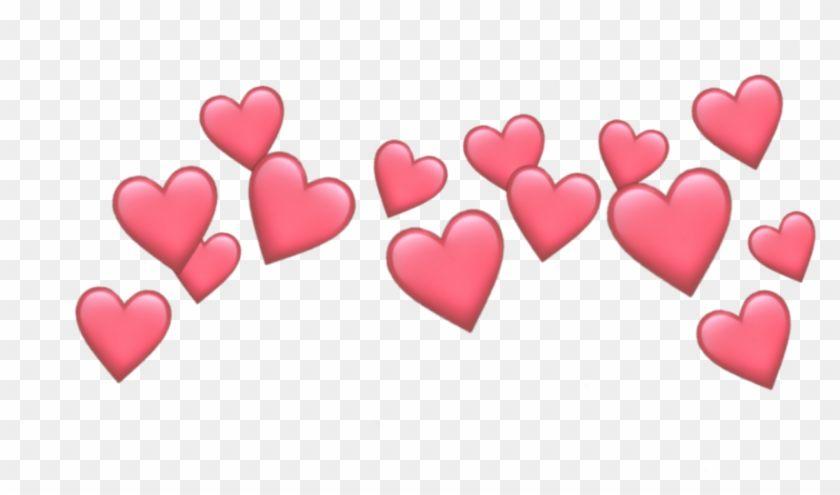 Find Hd Heart Hearts Crown Emoji Tumblr Emojis Picsart Crown Cute Heart Emoji Transparent Hd Png Download To Searc Heart Emoji Pink Heart Emoji Heart Crown