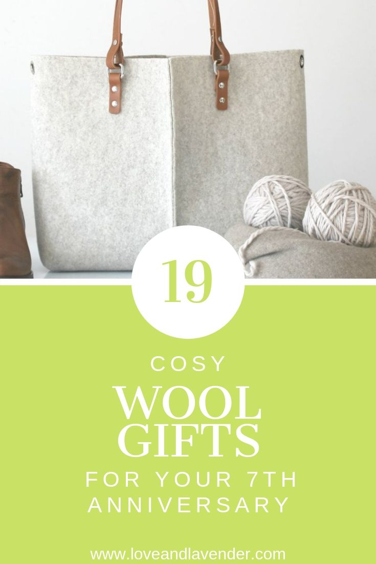 21 wool anniversary gifts for him her seven year