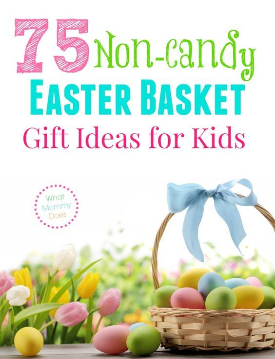 75 non candy easter basket gift ideas for kids kid the ojays 75 non candy easter basket gift ideas for kids negle Gallery