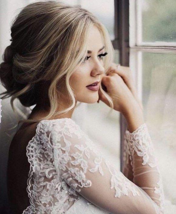 Einfache und faszinierende Brautfrisuren 2019 2020   Frisuren   Schöne Frisuren – Neue Seite