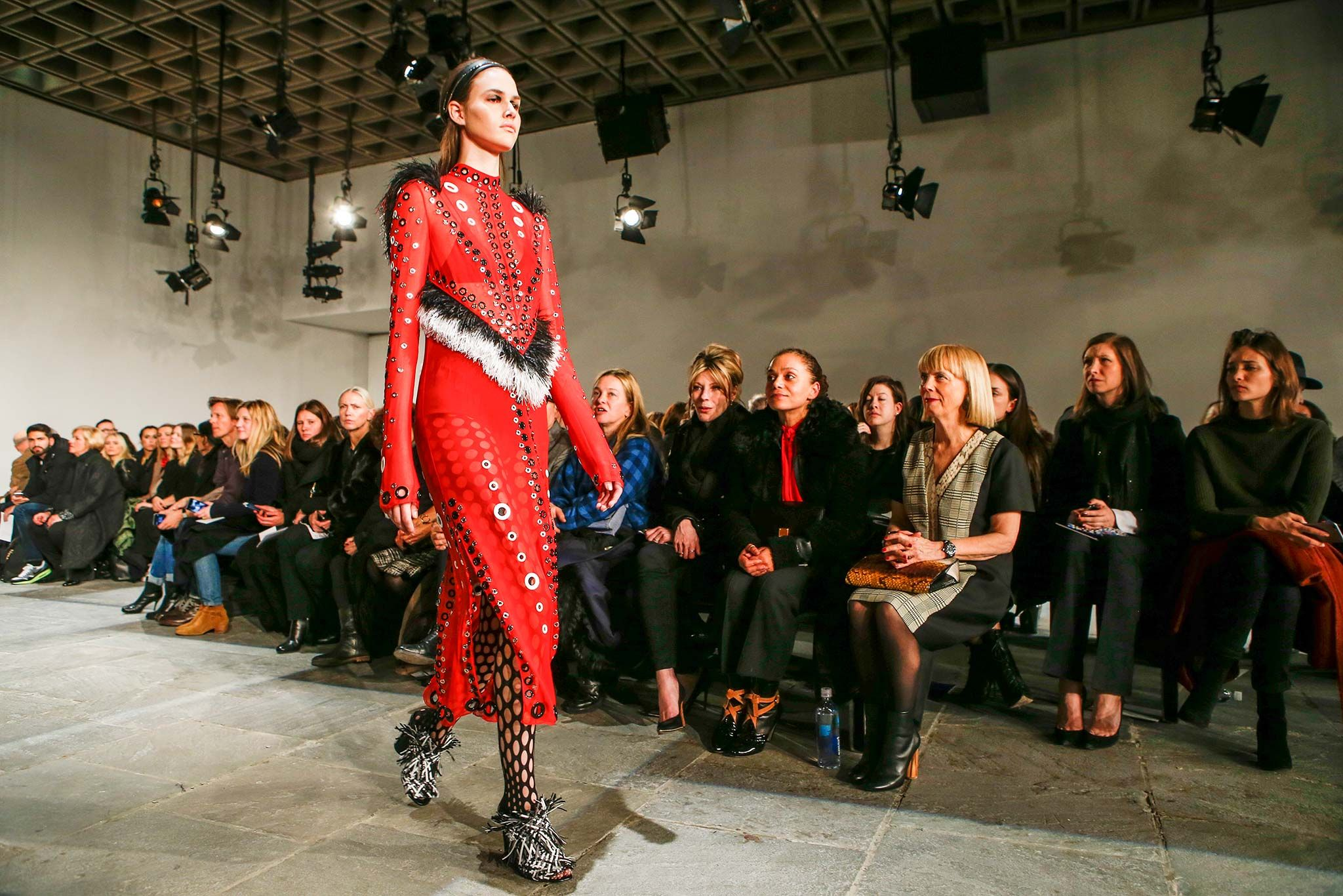 The Atmosphere at Proenza Schouler Fall 2015 Ready-to-Wear