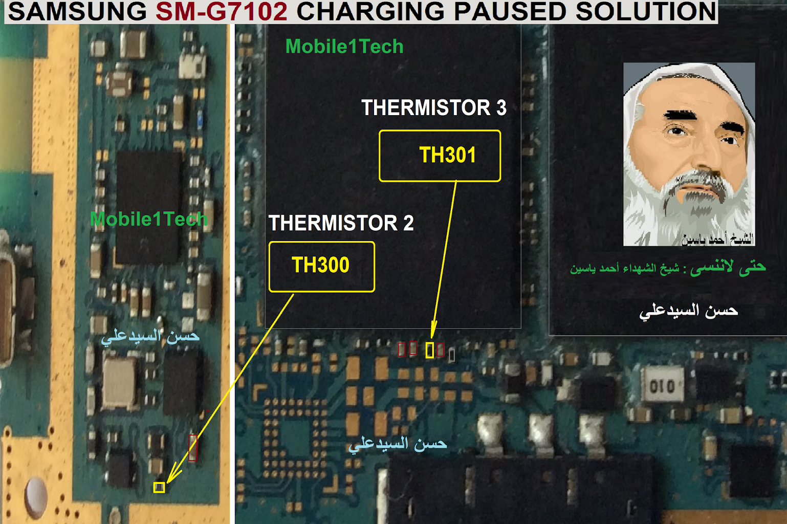 Samsung Galaxy Grand 2 Charging Paused Solution Jumpers | Taller