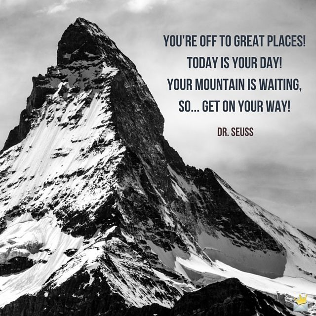 Dr Seuss Mountain Quote: 50 Priceless Famous Quotes