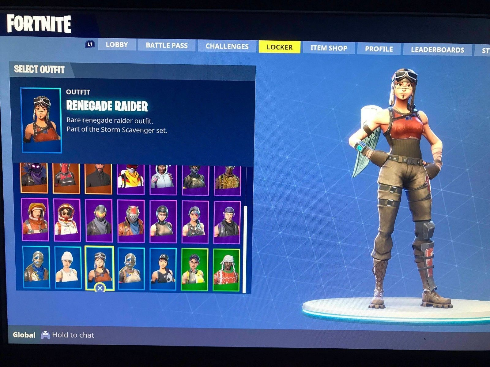 Fortnite Account Ps4 And Pc Skull And Ghaul Trooper Renegade Raider
