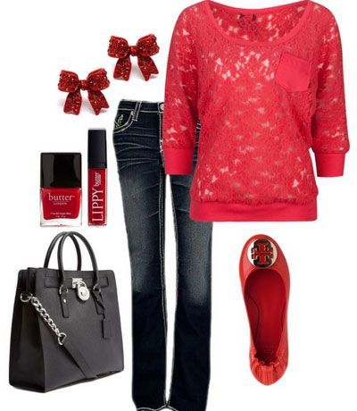 cute christmas outfit ideas winter reds