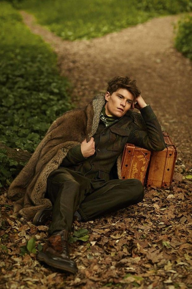 Oliver Cheshire for GQ Style Russia by Arnaldo Anaya Lucca