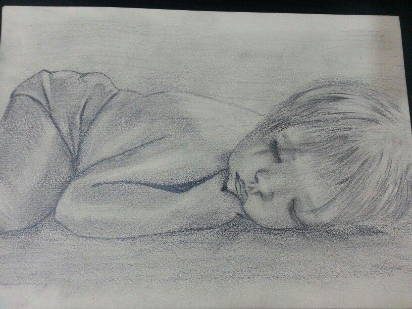 Рисунок карандашом (сон)   Art, Pencil art, Male sketch