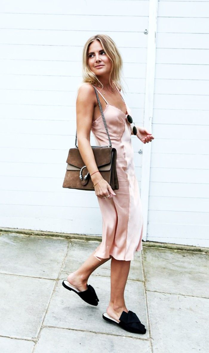 Pink slip dress outfit   Secrets That Will Make Your Outfit Look Better Than Everyone