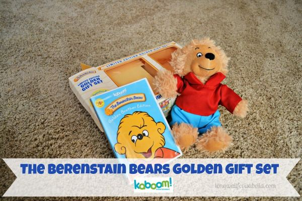 The Berenstain Bears Limited Edition Golden Gift Set