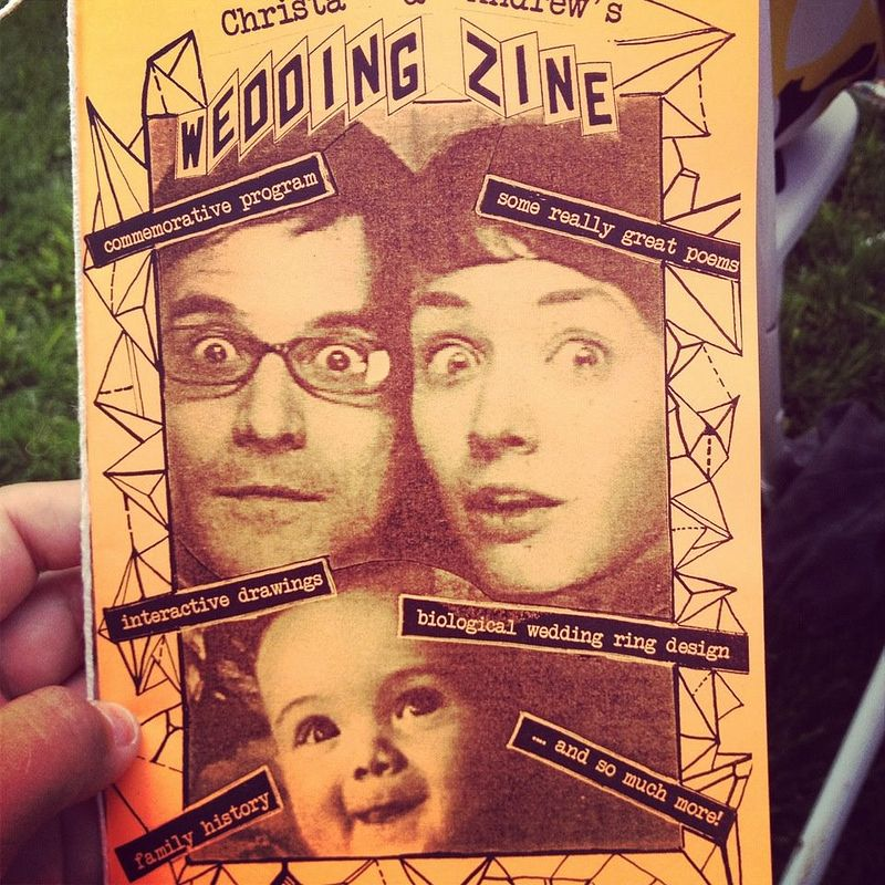 Wedding Zine Zine Wedding Wedding Ring Designs