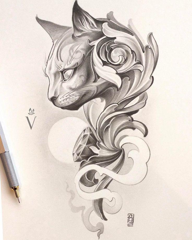 Photo of Egipto diseño de tatuaje diseño de tatuaje dibujos gatos diseños de tatuaje tatuaje esquí – imágenes de tatuajes de bricolaje – gatos