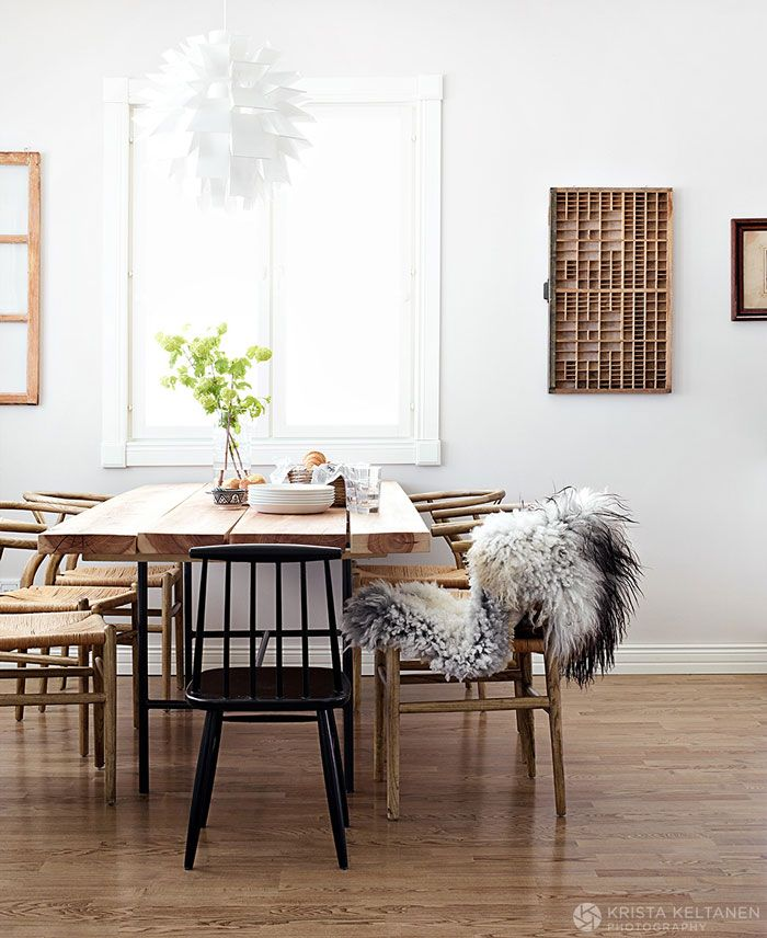 Spaces To Spend A Sundayfrom Fancy NZ Design Blog Scandinavian Dining RoomsScandinavian