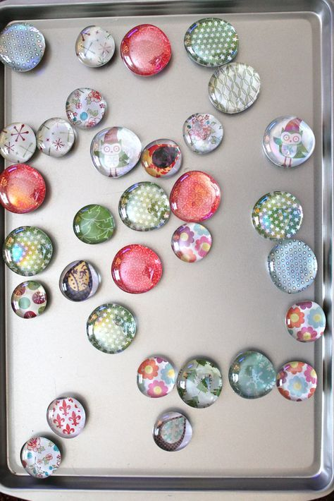 Glass Magnet Tutorial #craftstosell