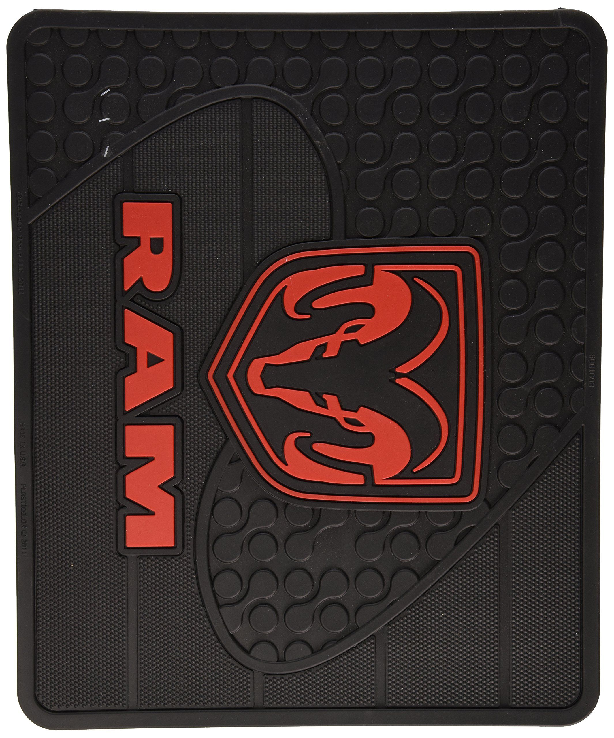 Dodge Factory Logo Molded Utility Mat 14 Click Image For More