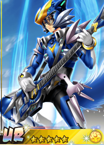 Bai Blue.png Anime, Rock, Blue