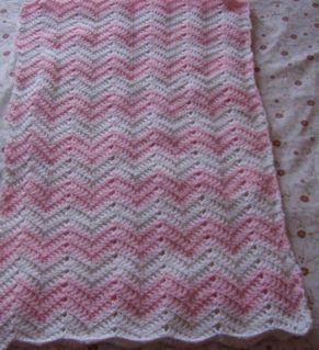 ma passion le crochet couverture zigzag pour b b tricot b b pinterest ma passion. Black Bedroom Furniture Sets. Home Design Ideas