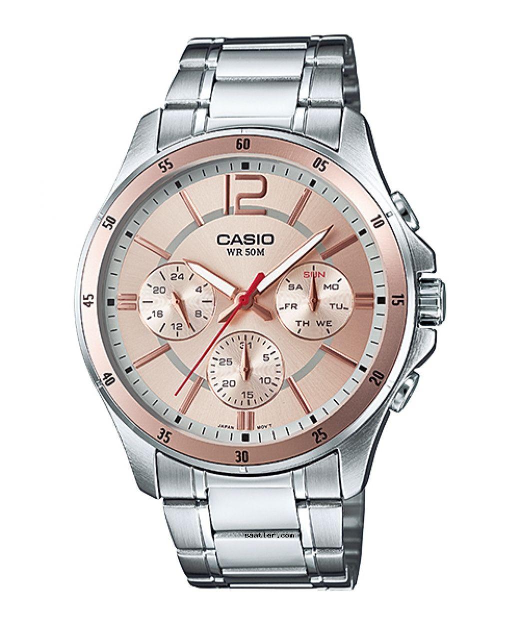 Casio Mtp 1374d 9avdf Kol Saati Erkek Kol Saatleri Saatler Urunler