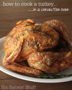 how to cook a turkey in a convection oven recipe thanksgiving convection oven turkey. Black Bedroom Furniture Sets. Home Design Ideas