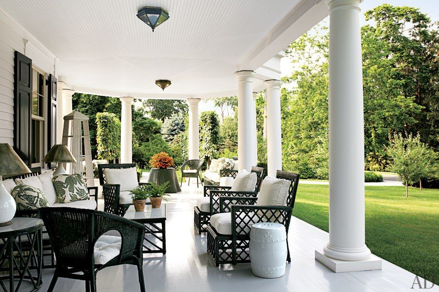 Quintessential Southern porch.