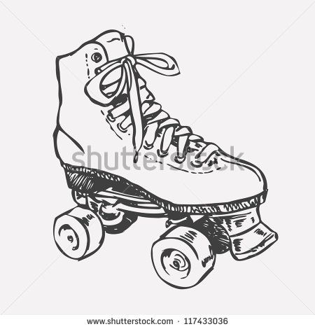 Roller Skating Stock Photos Images Pictures Retro Roller Skates Roller Derby Tattoo Roller Skating
