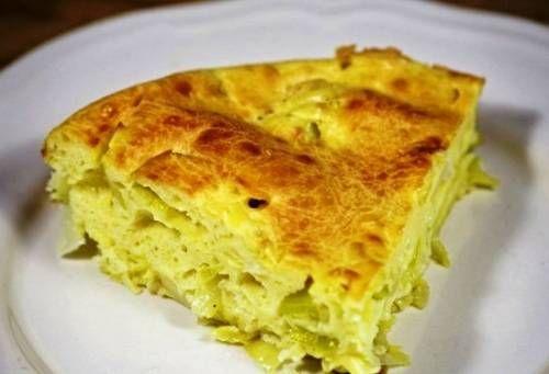 Простые пироги с капустой