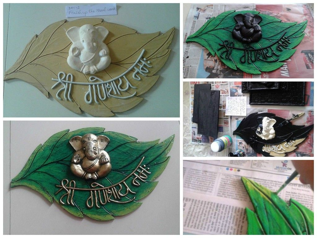 Mural Wall Hanging Simple Craft Ideas Mural Clay Crafts Mural Art