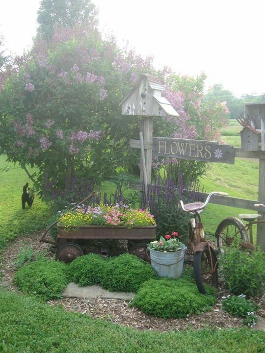 the flowers sign is adorable - I wish my lilac bush would grow like