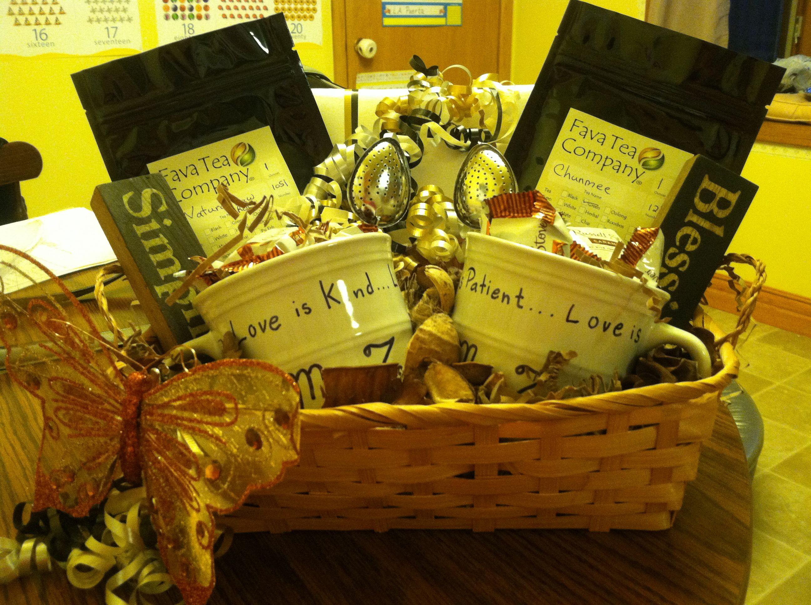 Wedding shower scented basket Basket, Decorative wicker