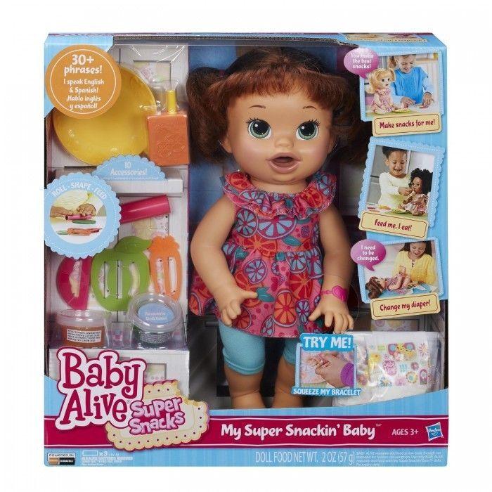 Baby Alive Doll Baby Alive Super Snacks Snackin Sara