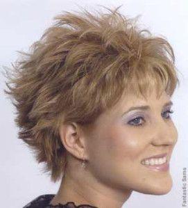 D grd cort sur cheveux souple ou ondul s hair styles pinterest cheveux coiffures pour - Coiffures courtes degradees ...
