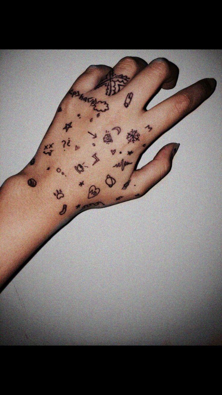 Small Hand Tattoos Small Hand Tattoos Hand Tattoos Cute Hand