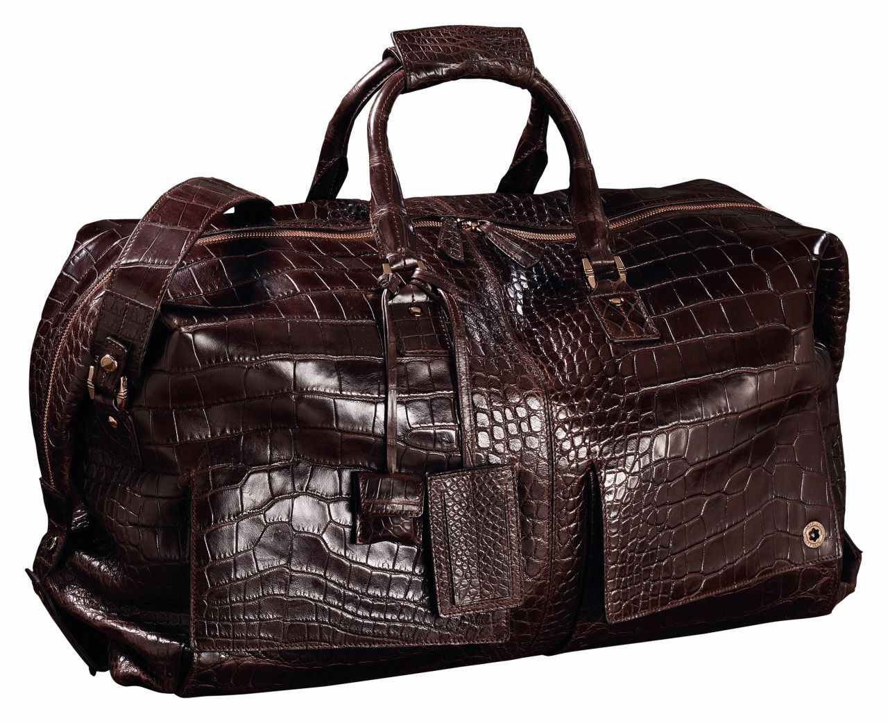 2e6d627c8 Montblanc alligator travel bag | Things I Love(d) | Mens luggage ...