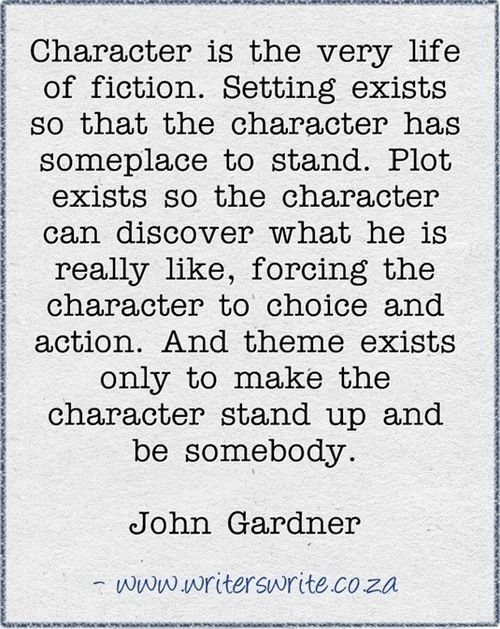 the art of fiction john gardner summary