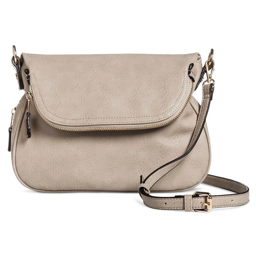 5fe8dd25aa31 Women s Faux Leather Zipper Flap Crossbody Handbag - Tan
