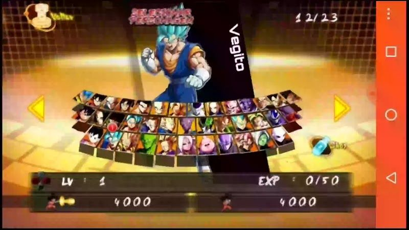 Dragon Ball Fighterz Apk Download For Android With All Characters