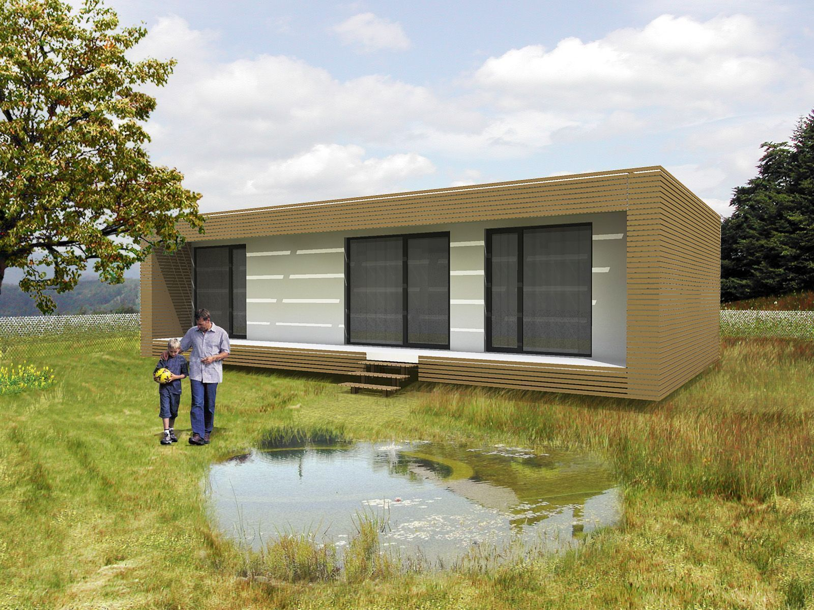 nest box takes the simple idea of designing modular prefabricated spaces and bumping them up to - Deckideen Fr Modulare Huser