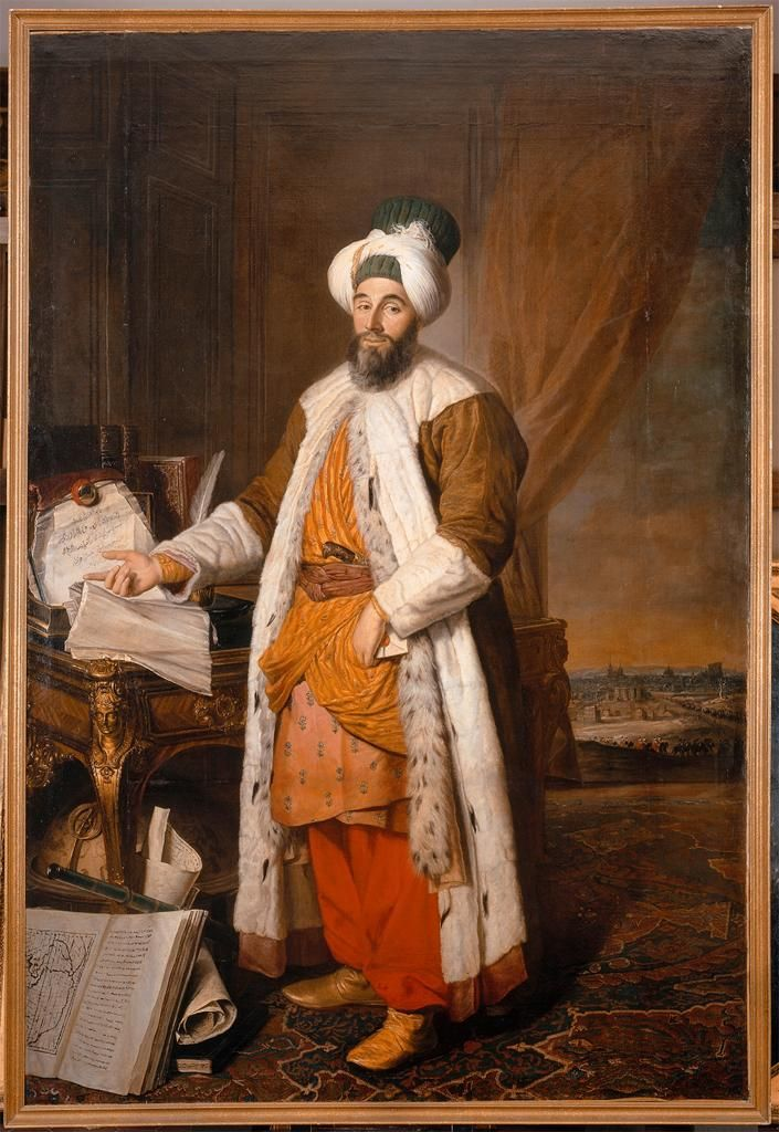 Aved, Jacque Andre (1702-1766) - 1742 Mehmed Said Efendi ...
