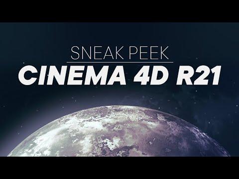 Cinema 4d R21 Nuove Funzionalita 3dart Cinema 4d Cinema Sneak Peek