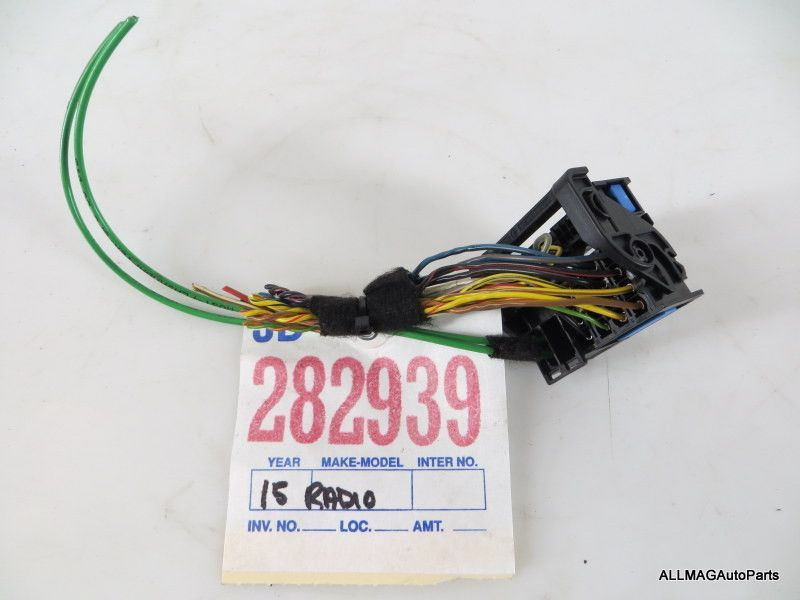 2007-2009 Mini Cooper Boost CD Radio Wire Harness (R55, R56, R57 ...
