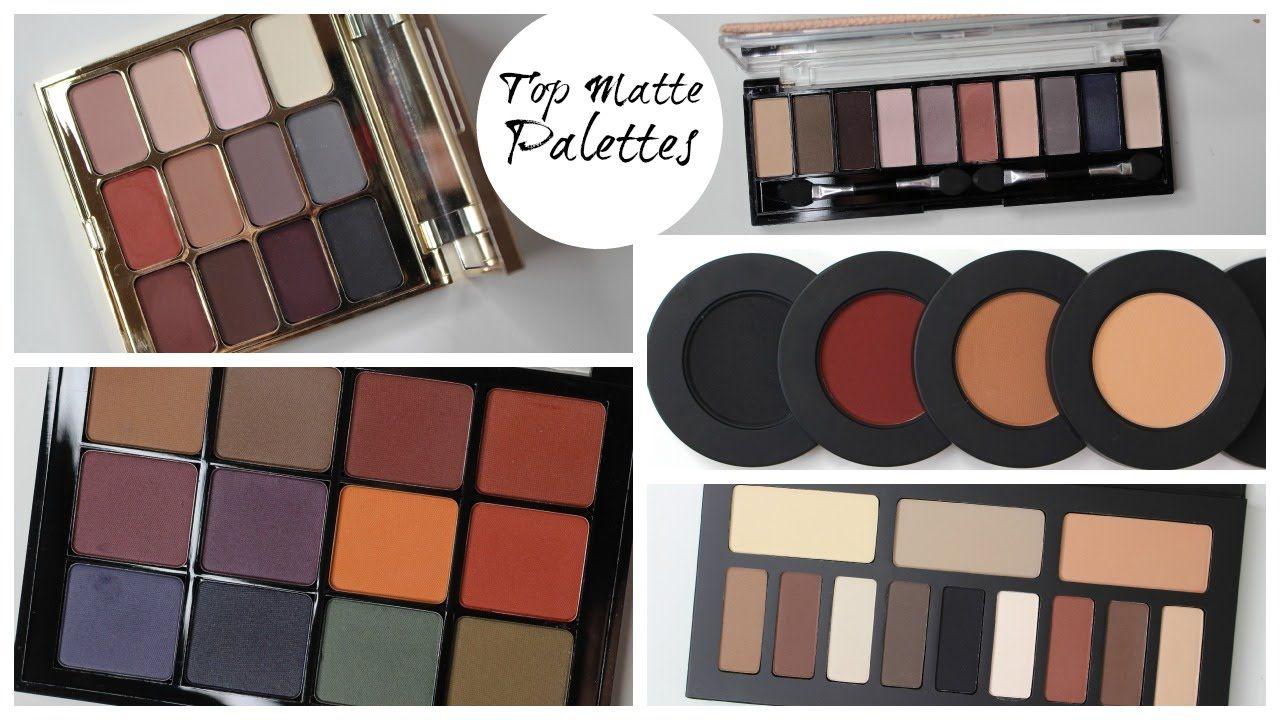 Top Matte Eyeshadow Palettes