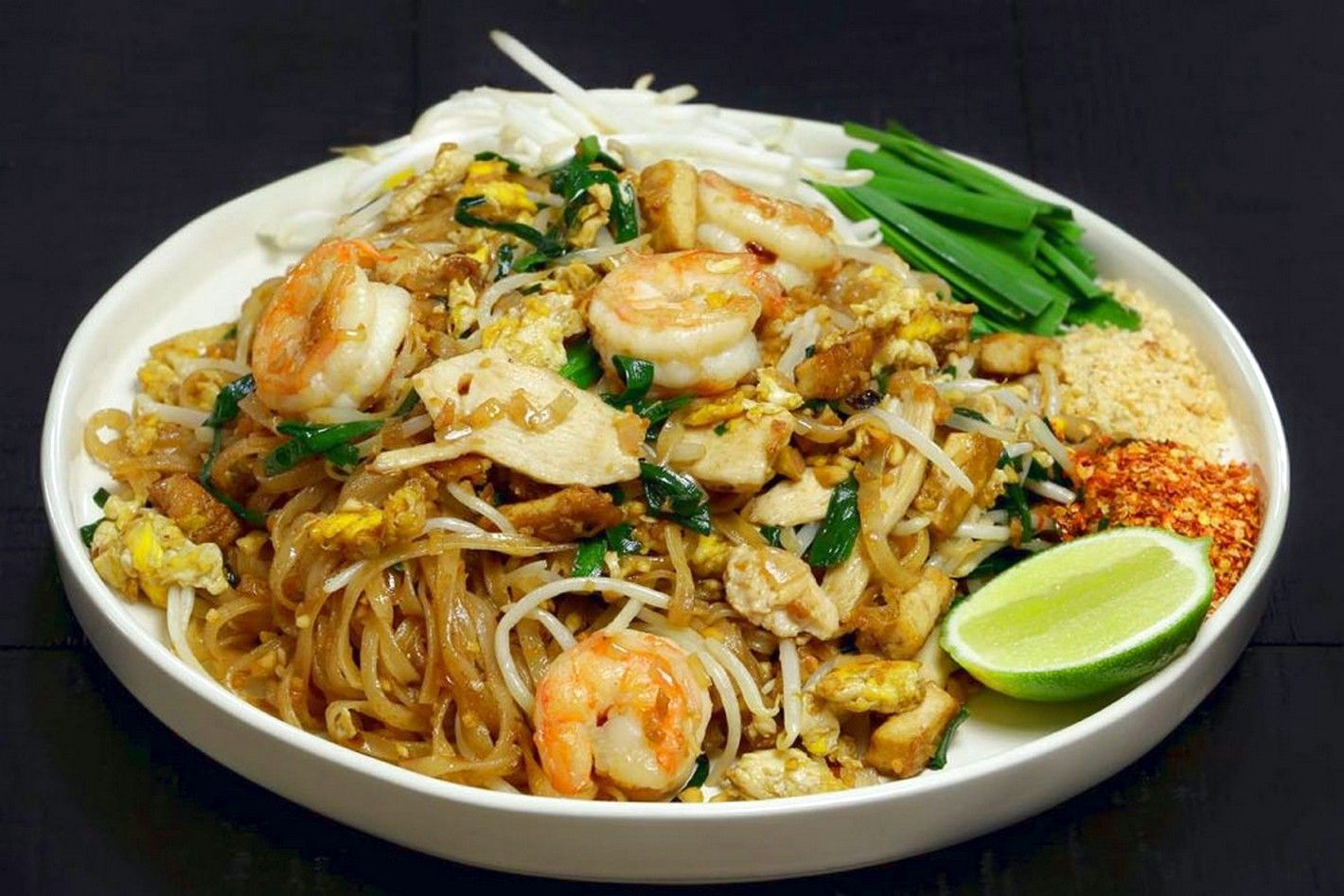 Chicken pad thai food recipes asian inspired pinterest thai chicken pad thai food recipes forumfinder Image collections