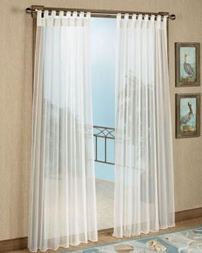 Escape Sheer Indoor Outdoor Hook And Loop Tab Top Panel Outdoor