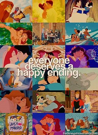 Everyone deserves a happy ending!