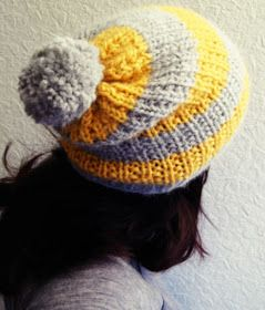 Free knitting pattern for hat (with link to Ravelry)