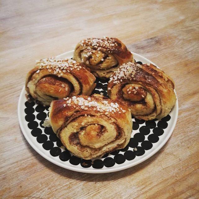 #leivojakoristele #kanelipullahaaste Kiitos @minnamadde