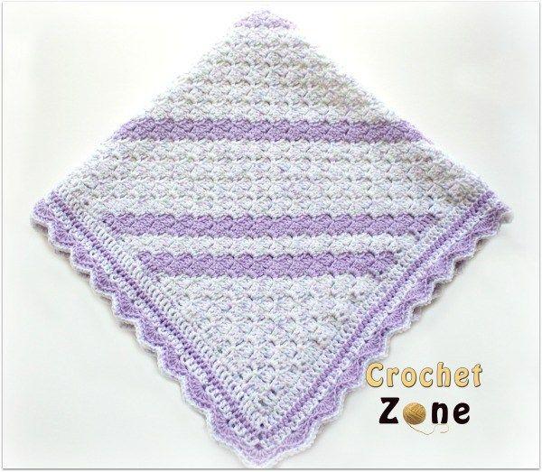 Confetti Baby Blanket | crochet patterns | Pinterest | Manta y Cobija