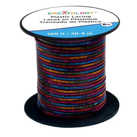 Multicolor Plastic Lacing Cord by Creatology™