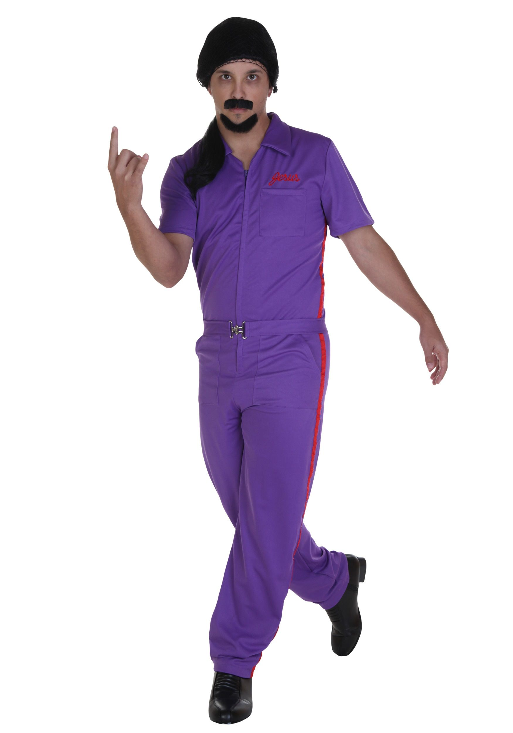 Big Lebowski Jesus Purple Deluxe Costume  sc 1 st  Pinterest & Big Lebowski Jesus Purple Deluxe Costume | stock photos | Pinterest ...