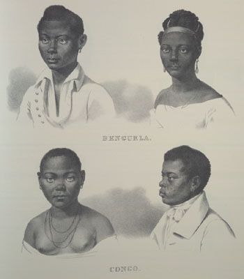 Slaves from Central Africa, Brazil, 1830s