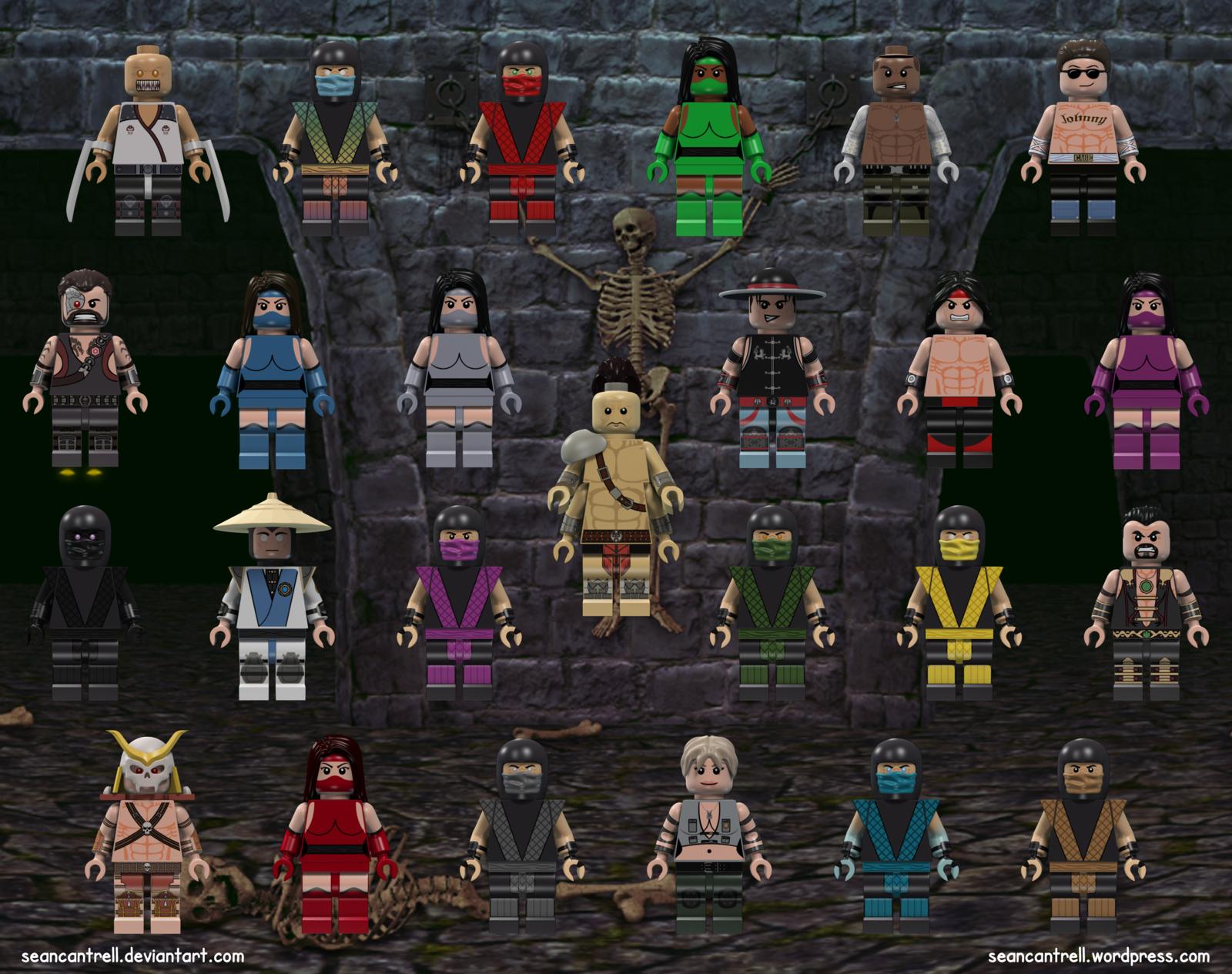 Lego Mortal Kombat | Toys | Mortal kombat, Mortal kombat